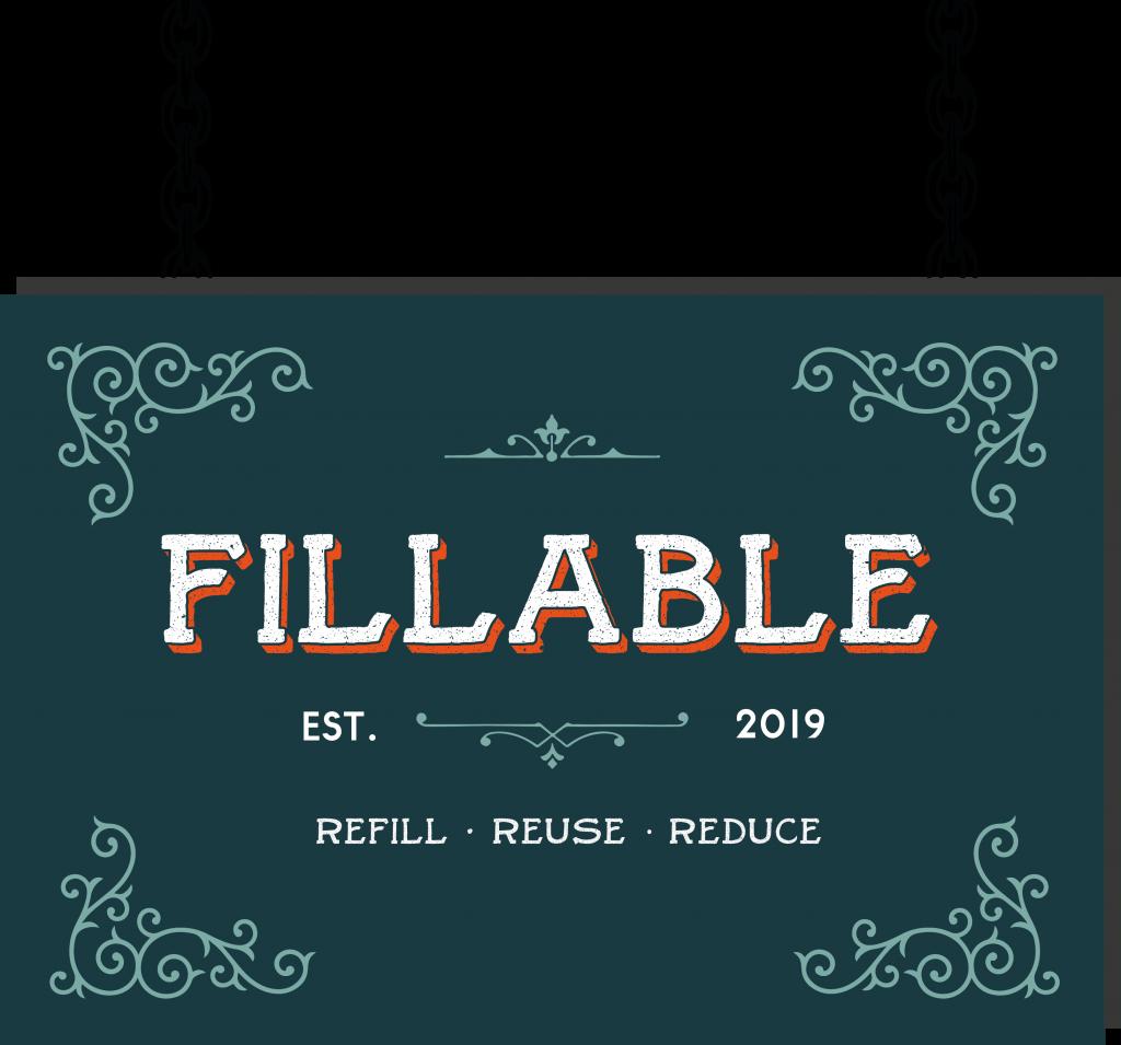 Fillable Refill Shop Logo