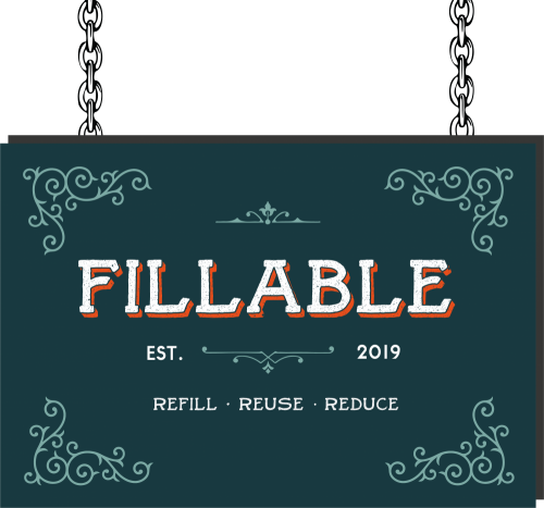 Fillable Refill Shop Logo